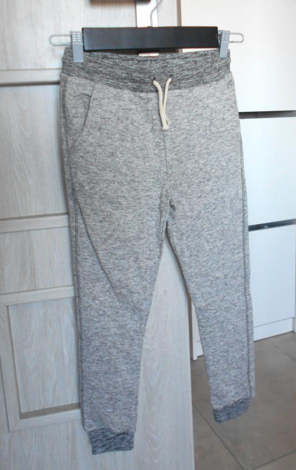Zara nowe dresy dziewczęce szare 140cm