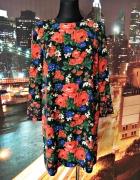 warehouse sukienka kwiaty floral luźny fason nowa hit 40...