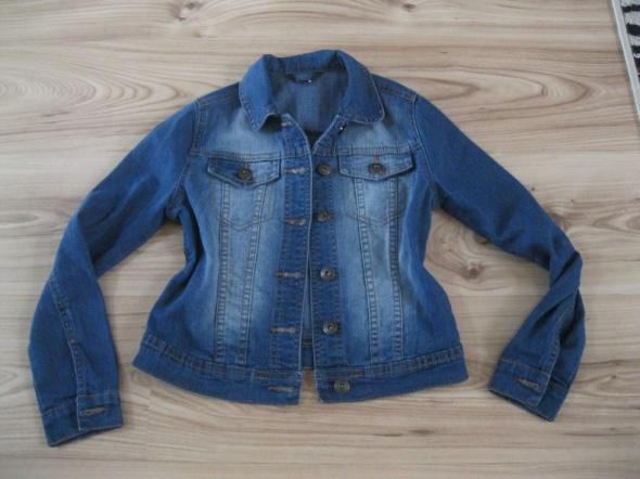 kurtka katana jeans GEORGE 134 skinny niebieska