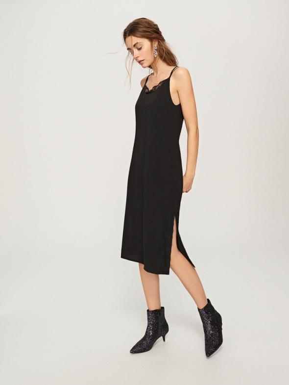Sukienka czarna Reserved nowa...