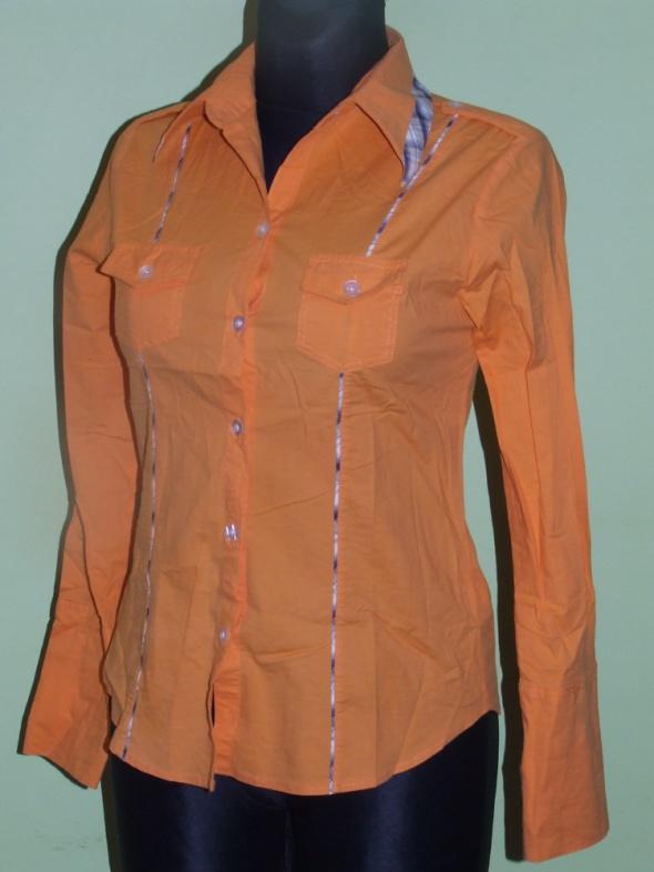 pomaranczowa koszula Fire Dragon rozmiar 36...