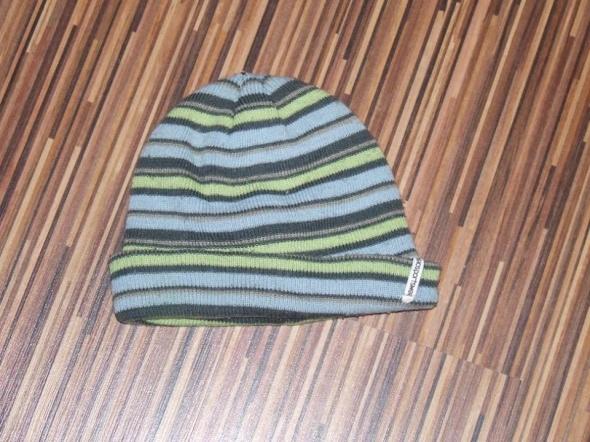 czapka zimowa w paski Tissaia rozmiar 98