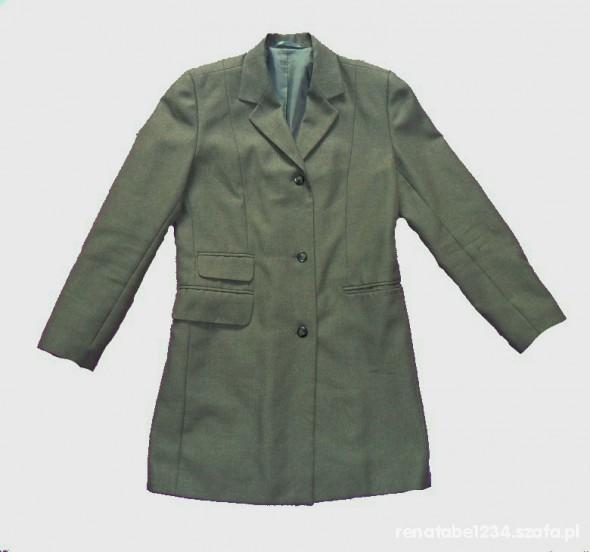 Marynarka dłuższa żakiet płaszczyk 38
