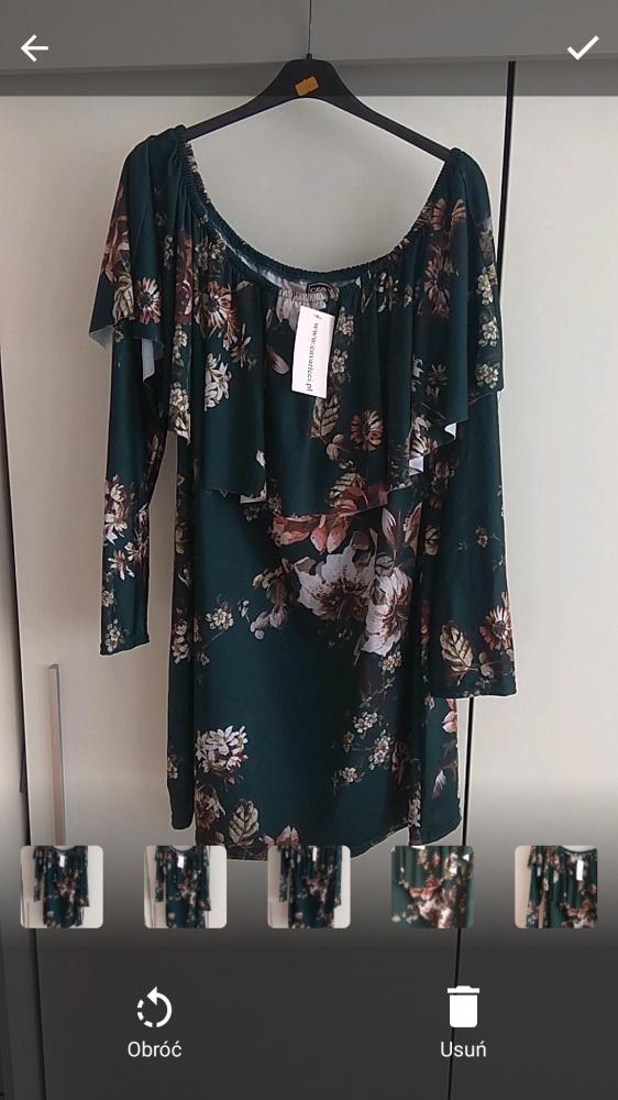 Krótka sukienka tunika