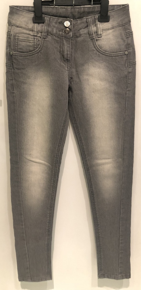 Spodnie jeansy rurki zip S 36 c&a...