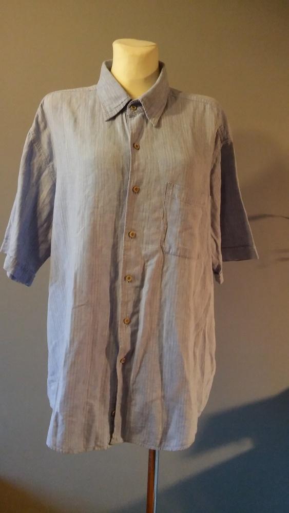 Niebieska koszula męska rozmiar XL...