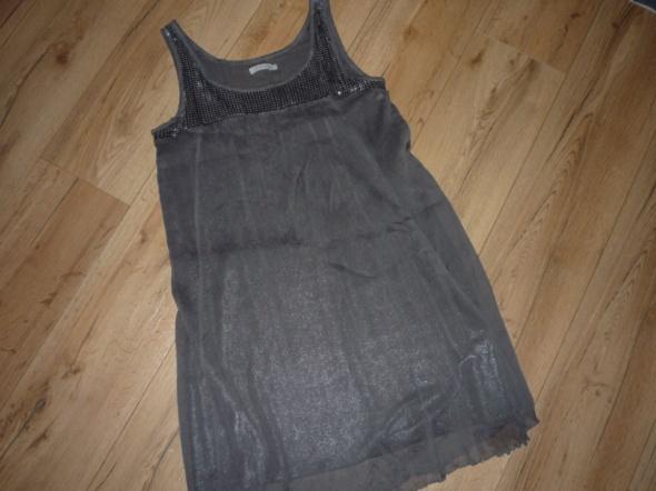 rozm 38 40 42 M L XL SAINT TROPEZ sukienka wyjsciowa CEKINY