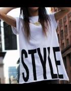luźna bluzka icon style...