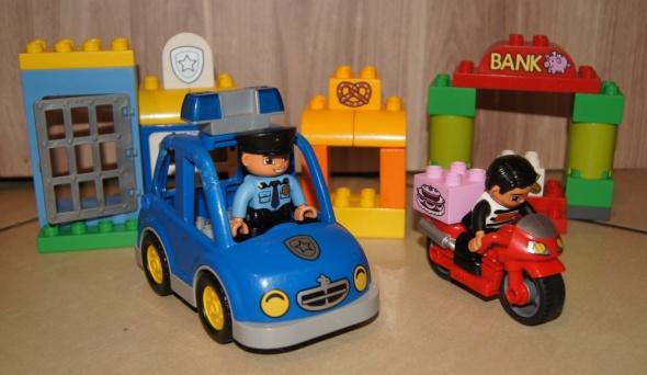 Lego Duplo Policja klocki zestaw