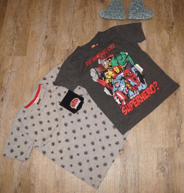 Bluzeczka koszulka zestaw Spiderman Superhero George rozm 116 122