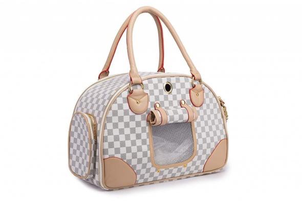 modna torba transporter dla psa kota dla stylowej właścicielki