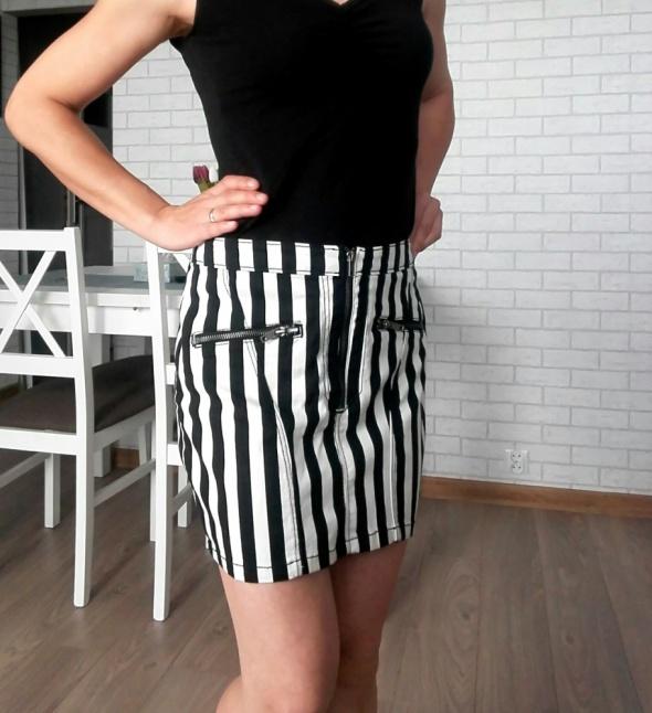 HM spódnica w pionowe pasy