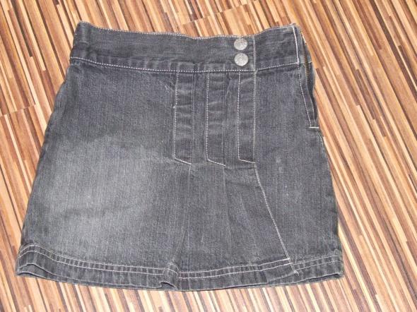 Sukienki i spódniczki spodniczka jeansowa C&A rozmiar 128