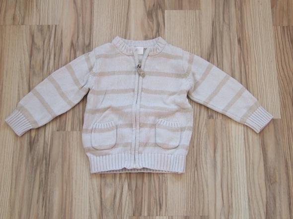 sweterek w paski 5 10 15 rozmiar 86...