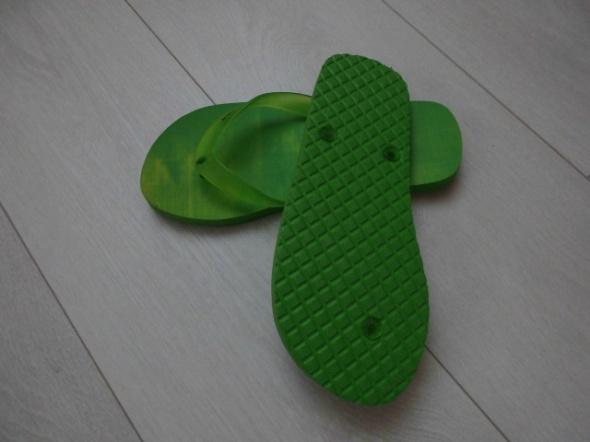 klapki Japonki zielone rozm 38
