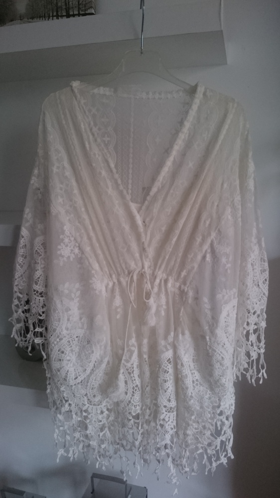 Tunika sukienka koronkowa