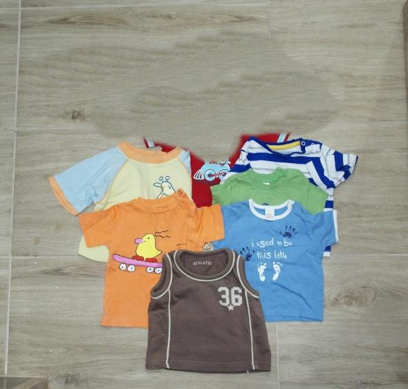 Bluzeczki różne firmy i wzory kolory 68