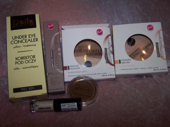 Zestaw kosmetyków do makijażu Nowe
