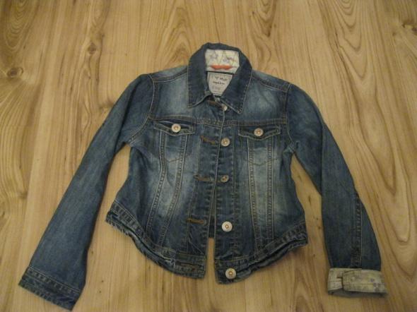 kurtka katana jeans NEXT 128 skinny