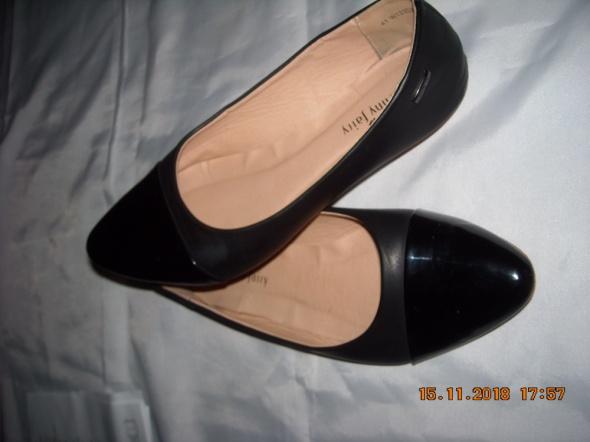 Baleriny balerinki buty czarne balerinki 41 Jenny fairy...