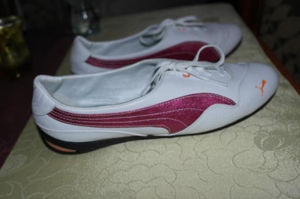 Buty Puma damskie białe 40 stan idealny