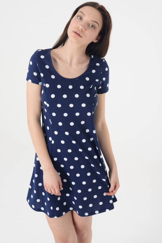Nowa sukienka 38 M Terranova grochy kropki...