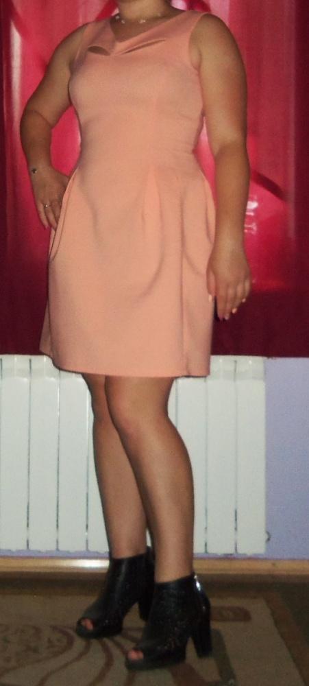 Oryginalna sukienkabrzoskwiniowa Inside 40