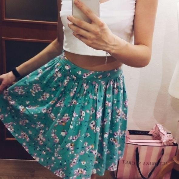 Spódnice spódnica kwiaty new look