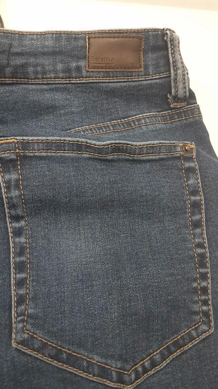 Spodnie Bershka denim r 38 jeans skinny niebieski klasyczny bez...