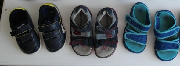 Rebook Adidas sandałki półbuty 22 23