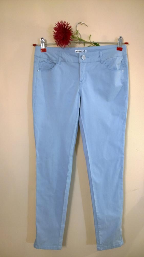 spodnie blue zip