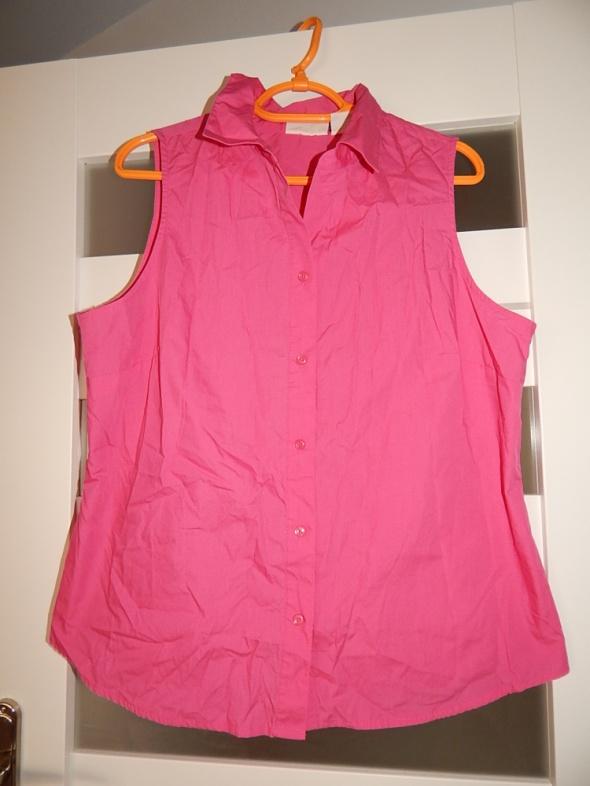 koszula różowa rozpinana