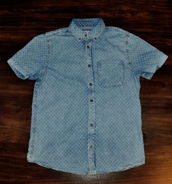 męska jeansowa koszula River Island