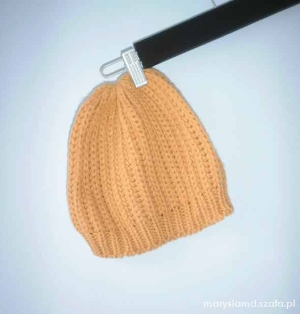 Carry musztardowa ciepła zimowa czapka...