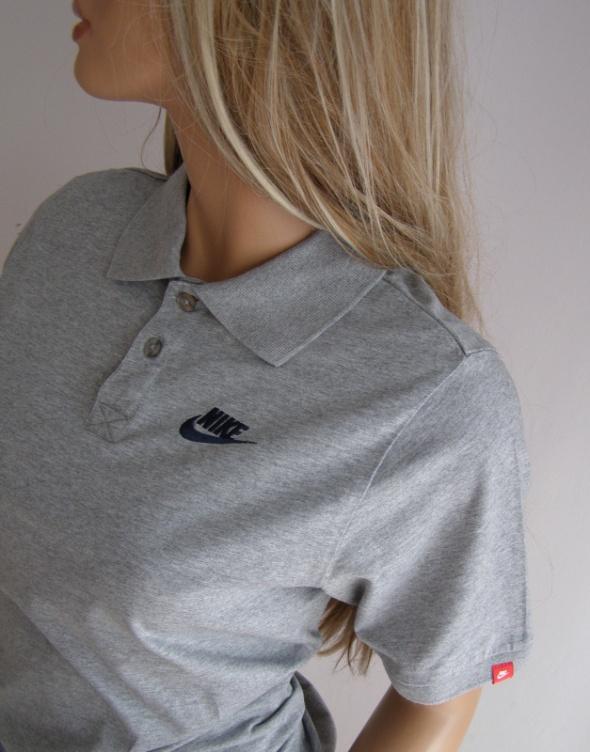 Bluzka koszulka polo Nike XL 158 170 szara