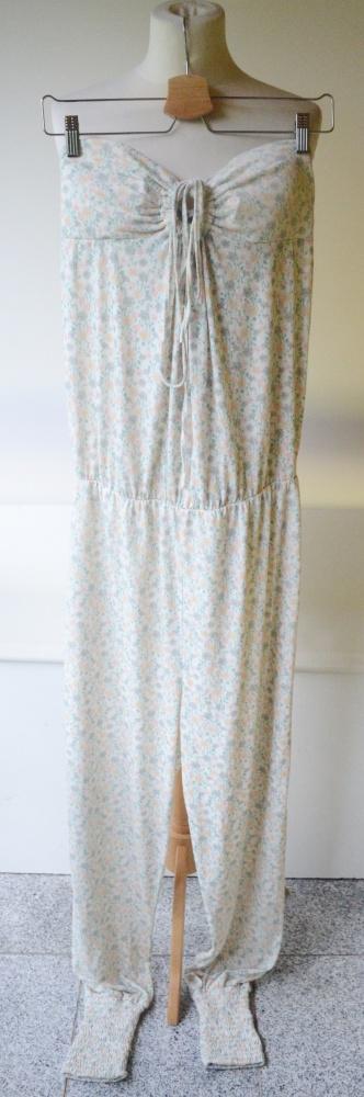 Kombinezon Kwiaty Vero Moda Jeans M 38 Ciążowy