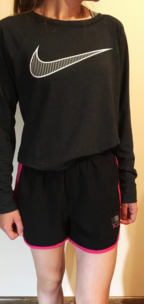 Sportowe czarne spodenki Karrimor