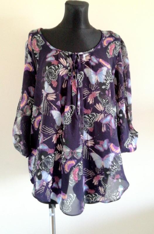 Zwiewna bluzka Wallis 46 48