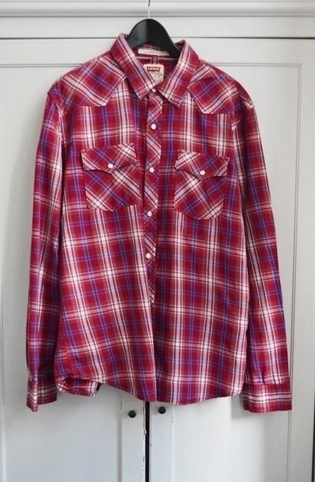 Koszula w kratę Levis oversize XL XXL 42 44
