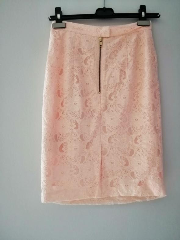 Spódnice Elegancka spódnica morelowa H&M 34 XS
