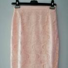 Elegancka spódnica morelowa H&M 34 XS
