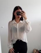 Przeźroczysta koszula Lindex...