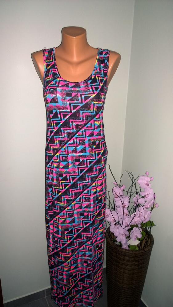 sukienka maxi XS S
