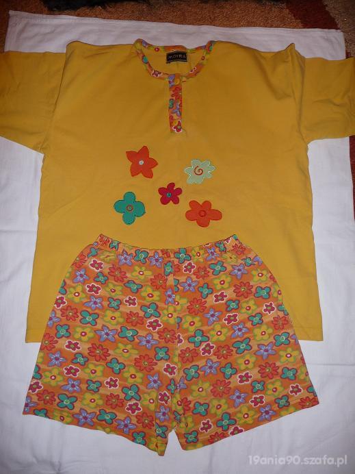 Pomarańczowa piżama