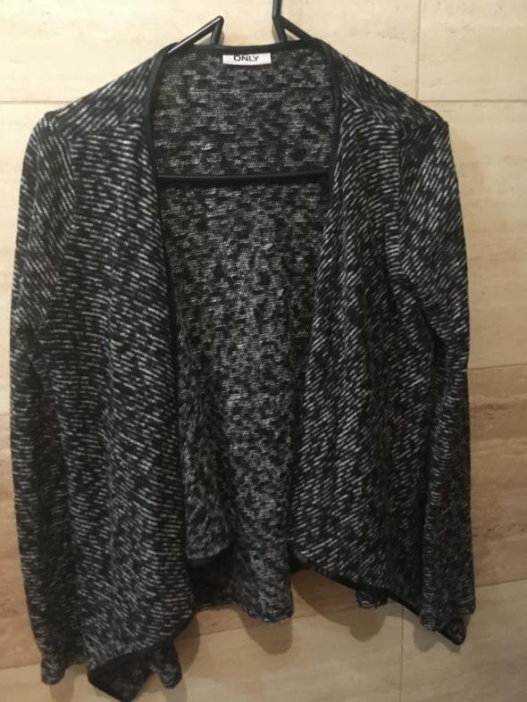 Swetry kardigan only 36 S czarny