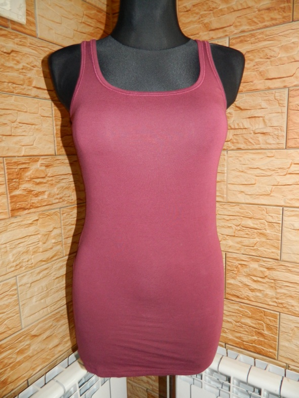 Vero Moda bluzka bokserka tunika roz S