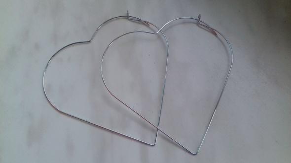 kolczyki serca