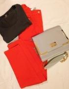 spodnie pomarańczowe h&m...