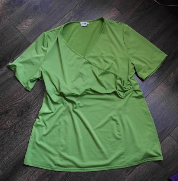 Bluzeczka jasna zieleń 50