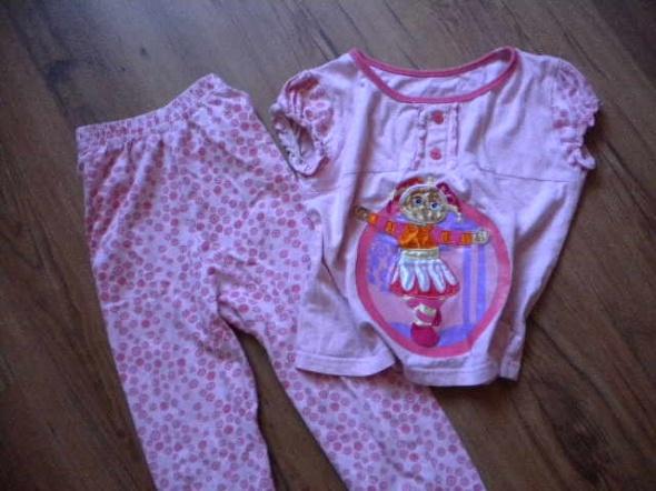 Piżamki piżama 104 110 różowa